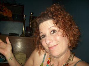 Goofy image of Christine Pechstein