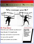 Image of the Life Management Network Magazine Cover