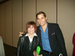 Image of Bill Rancic and Christine Pechstein at The Hutchinson Chamber of Commerce Annual Meeting